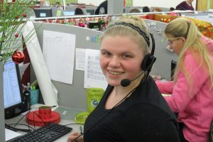 New face & name on familiar call center in Brownsville. Now hiring!